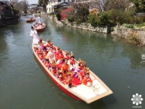 2016.03 柳川市さげもんめぐり 水上パレード