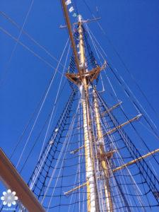神戸の帆船