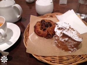 ブランジェリーコムシノワ 栗のパン