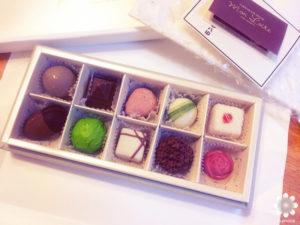 モンロワールのチョコレート