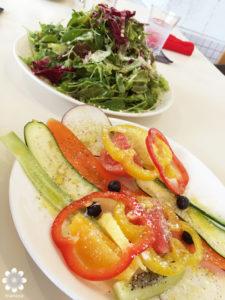 ハニカムカフェ サラダ