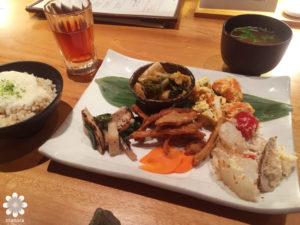SOHSOH 野菜たっぷり玄米定食