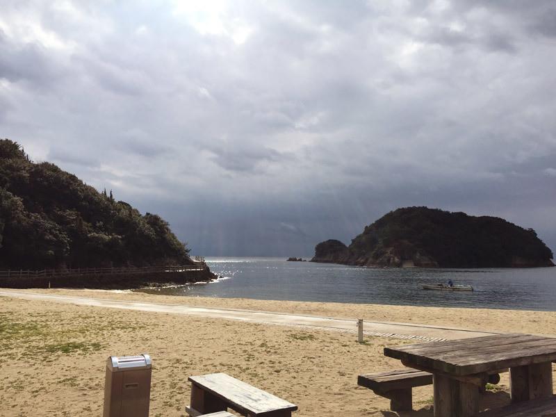 仙酔島 海岸